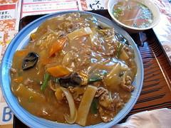 中華風カレー丼